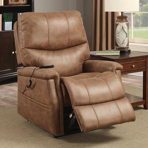 Pulaski Remote Lift Recliner Arm Chair