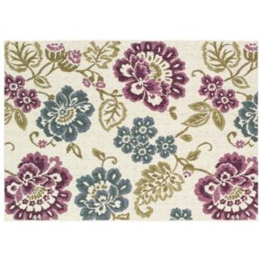 Couristan Dolce Tivoli Floral Indoor Outdoor Rug