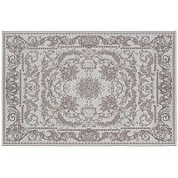 Couristan Dolce Messina Framed Floral Indoor Outdoor Rug