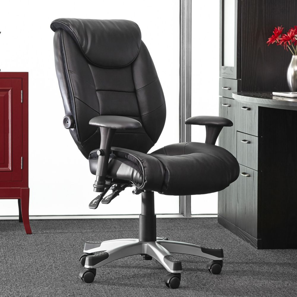 posturepedic memory foam desk chair