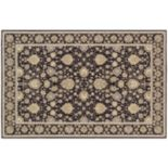 Couristan Dolce Pompano Framed Floral Indoor Outdoor Rug