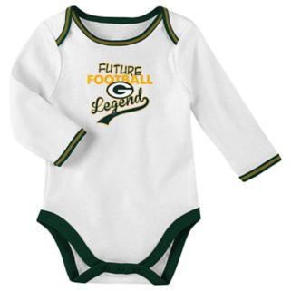 Baby Green Bay Packers Future Legend Bodysuit, Pants & Hat Set
