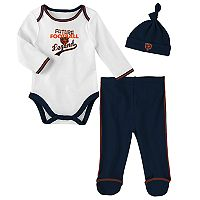 Baby Chicago Bears Future Legend Bodysuit, Pants & Hat Set