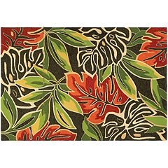 Couristan Covington Areca Palms Indoor Outdoor Rug