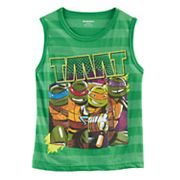 Boys 4-7 Teenage Mutant Ninja Turtles Striped Tank Top