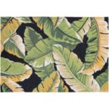 Couristan Covington Rainforest Leaf Indoor Outdoor Rug