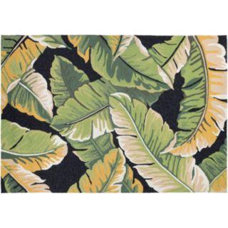Couristan Covington Rainforest Leaf Indoor Outdoor Rug