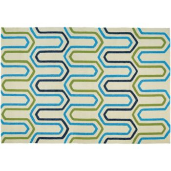 Couristan Covington High Tide Trellis Indoor Outdoor Rug