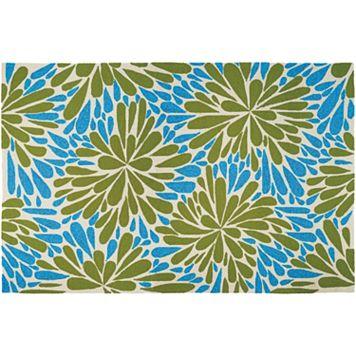 Couristan Covington Summer Siesta Floral Indoor Outdoor Rug