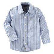 Boys 4-12 OshKosh B'gosh® Striped Button Down Shirt