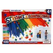 Roylco 400 pc Straws & Connectors Set
