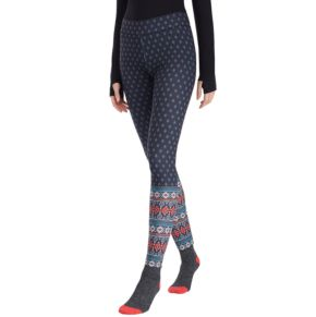 Women's Cuddl Duds Super Soft Leggings & Plush Socks Set