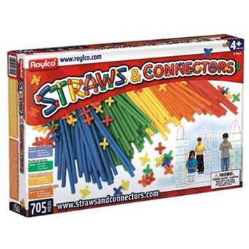Roylco 705-pc. Straws & Connectors Set
