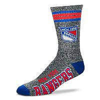 Adult For Bare Feet New York Rangers Got Marbled Crew Socks