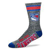 Adult For Bare Feet New York Rangers Got Marbled Crew Socks