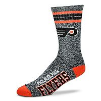 Adult For Bare Feet Philadelphia Flyers Got Marbled Crew Socks