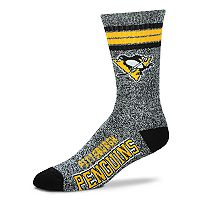 Adult For Bare Feet Pittsburgh Penguins Got Marbled Crew Socks
