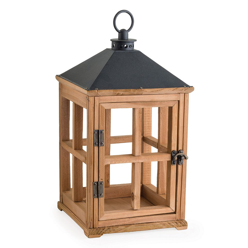 Candle Warmers Etc. Wood Lantern Candle Warmer