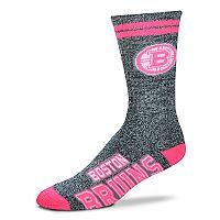 Adult For Bare Feet Boston Bruins Crew Socks