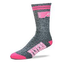 Adult For Bare Feet Philadelphia Flyers Crew Socks