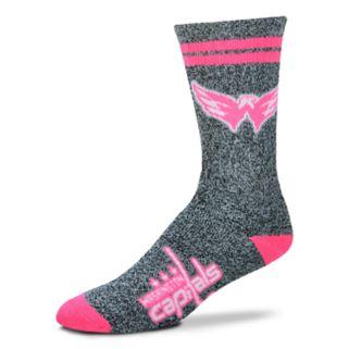 Adult For Bare Feet Washington Capitals Crew Socks