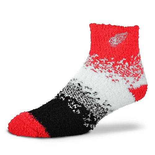 Women's For Bare Feet Detroit Red Wings Marquee Sleep Socks