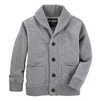 Boys 4-12 OshKosh B'gosh Shawl Collar Cardigan
