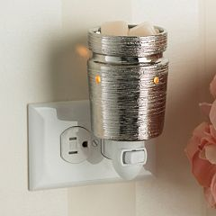 Candle Warmers Etc. Metallic Outlet Wax Melt Warmer