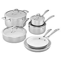 J.A. Henckels International 10-pc. Ceramic Interior Cookware Set