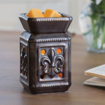Candle Warmers Etc. Illumination Fleur De Lis Wax Melt Warmer