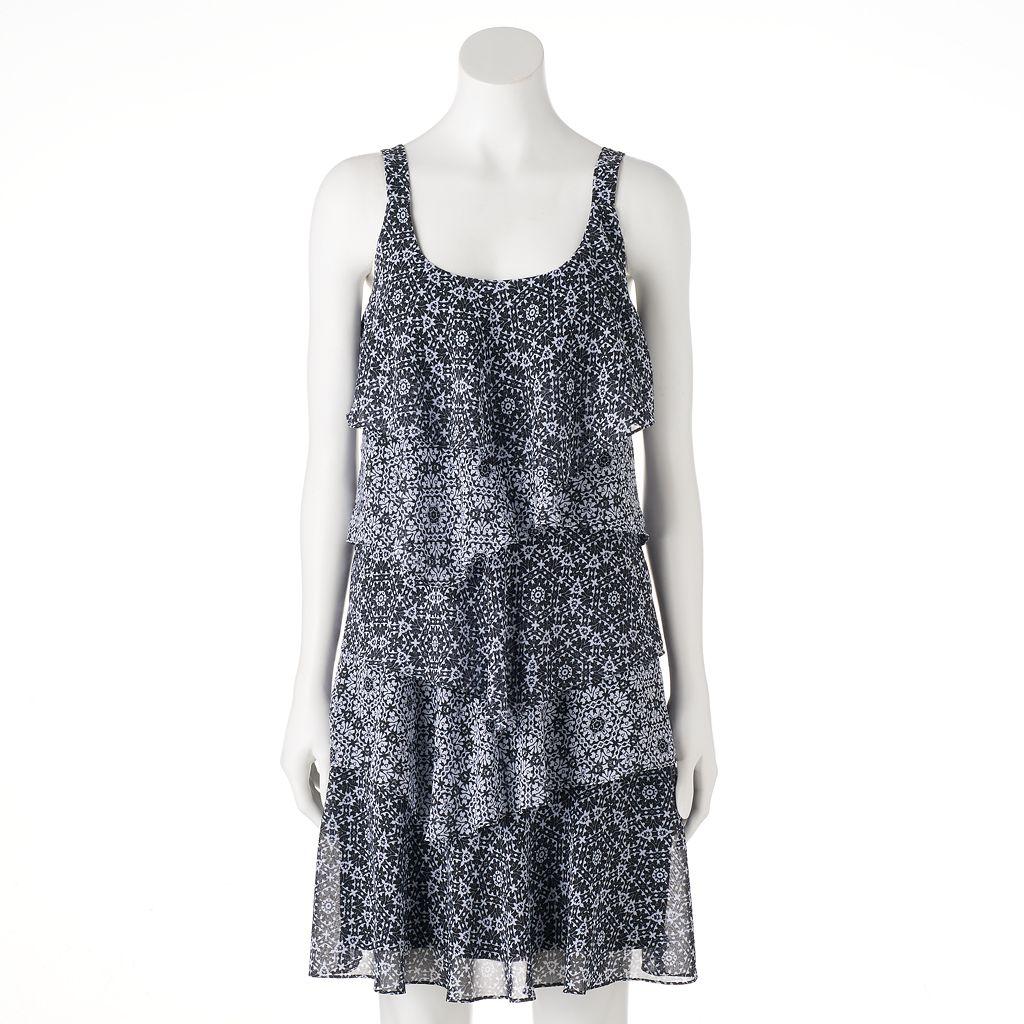 Women's Bethany Tiered Shift Dress