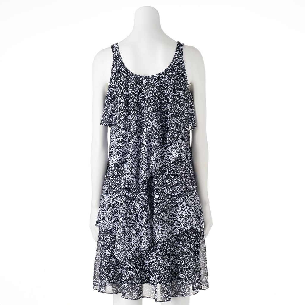 Women's Bethany Tiered Shift Dress