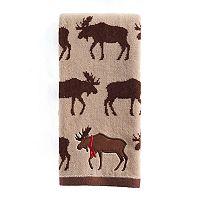 St. Nicholas Square® Repeat Moose Pattern Hand Towel