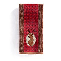 St. Nicholas Square® Deer Head Hand Towel