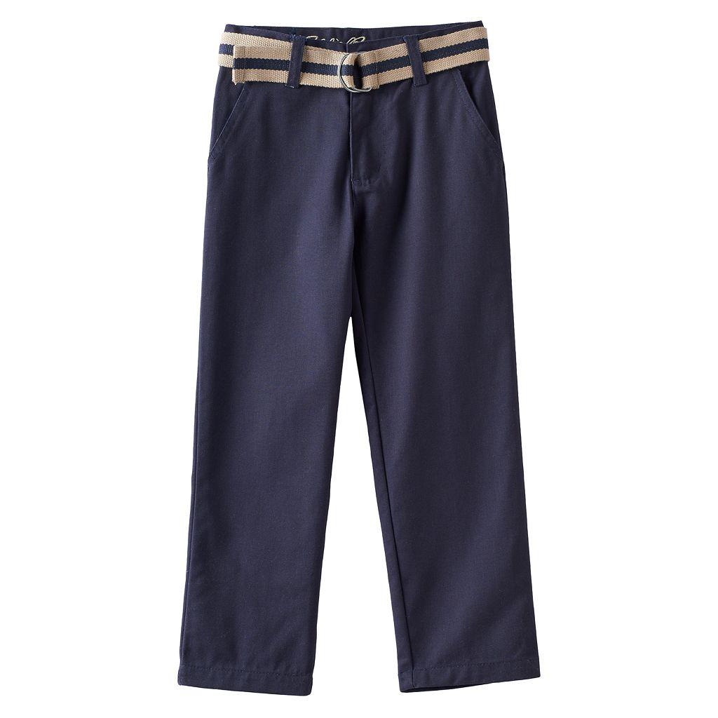 Boys 4-16 Eddie Bauer Belted Pants