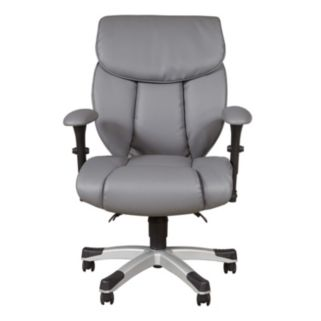 Sealy Memory Foam Faux-Leather Desk Chair