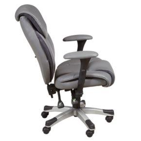 Sealy Memory Foam Faux-Leather Desk Chair
