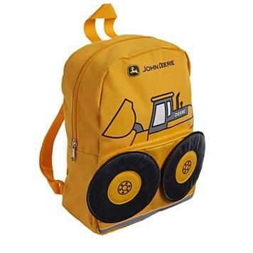 Toddler Boy John Deere Bulldozer Backpack