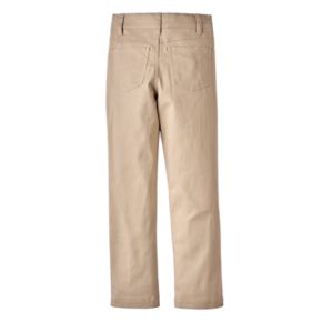 Boys 4-16 Eddie Bauer Flat-Front Stretch Pants