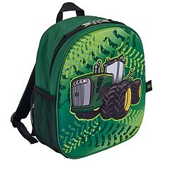 Toddler Boy John Deere Pop-Out Tractor Backpack