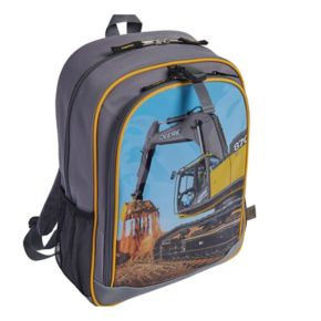 Boys John Deere Photoreal Excavator Backpack