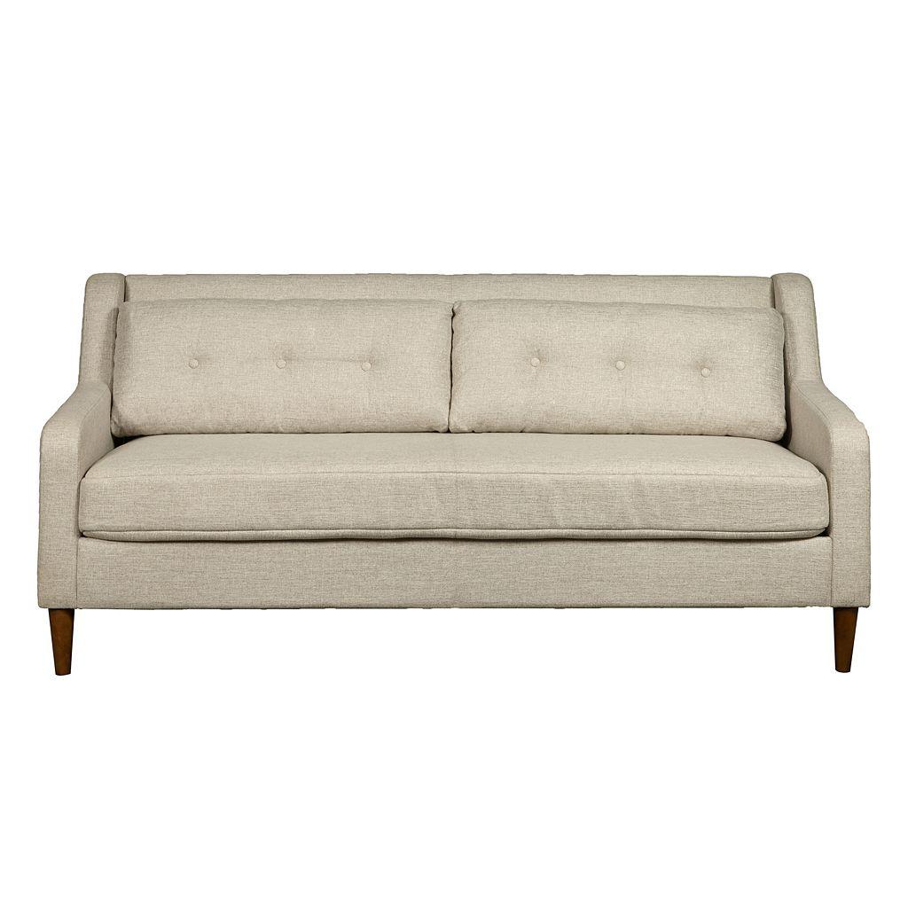 Pulaski Tufted Mid-Century Modern Sofa