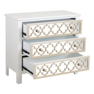 Pulaski Moroccan Mirrored 3-Drawer Dresser