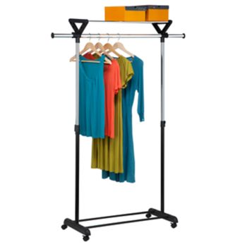 Honey-Can-Do Top Shelf Garment Rack
