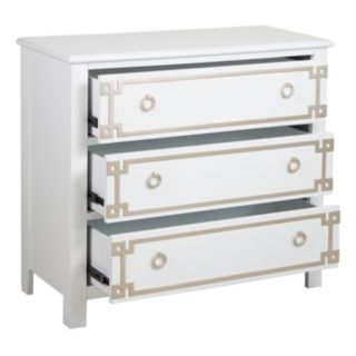 Pulaski Greek Key 3-Drawer Dresser
