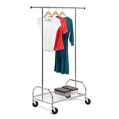 Honey-Can-Do Bottom Shelf Garment Rack