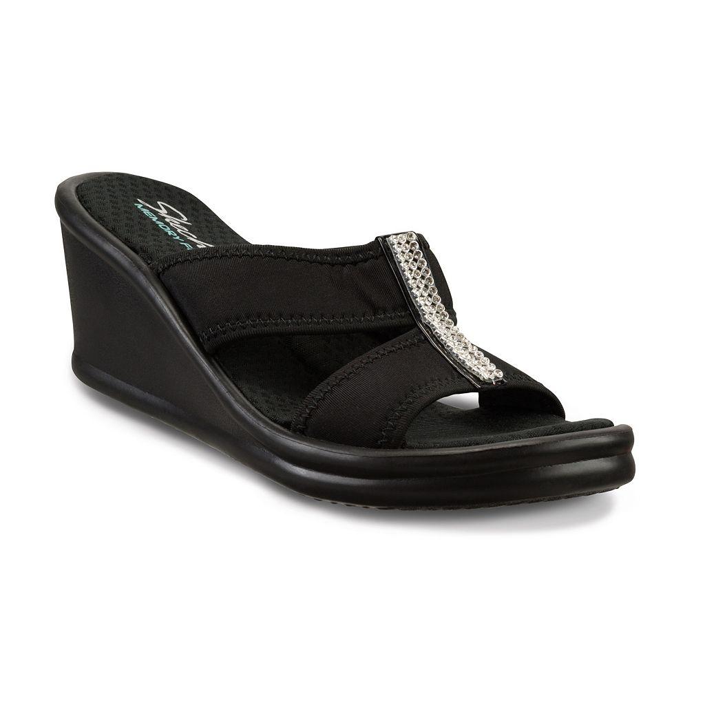 Skechers Rumblers Risk Taker Women's Wedge Sandals