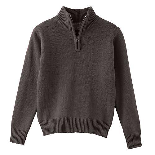 Boys 4-16 Eddie Bauer Quarter-Zip Sweater