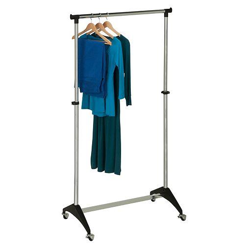 Honey-Can-Do Adjustable Rolling Garment Rack