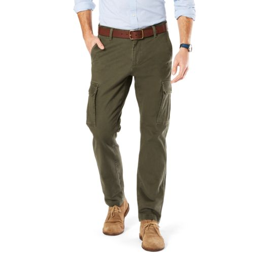 Big & Tall Dockers Athletic-Fit Stretch Cargo Pants